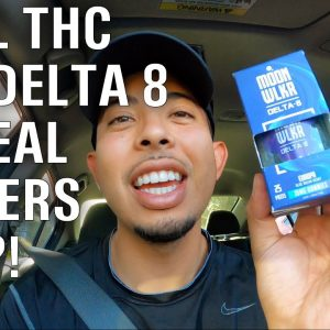 First time trying DELTA 8 | WHAT is it & Does it work? The TRUTH 💯🔥